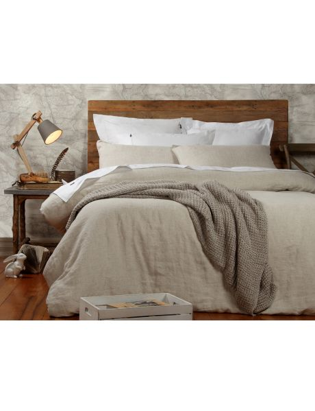 Domani vintage-washed linen is pre-washed to create softness with a relaxed, lived-in look.