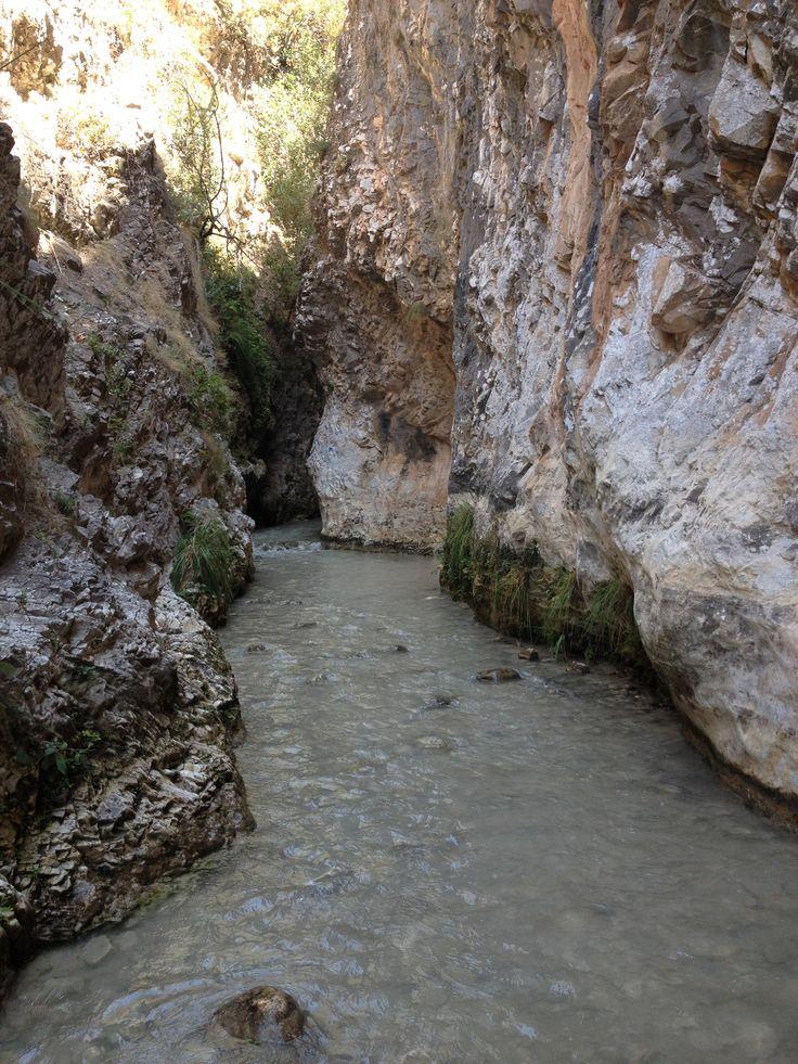 Cauce del rio Chillar, Nerja, Málaga