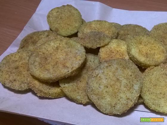 Melanzane impanate fritte  #ricette #food #recipes