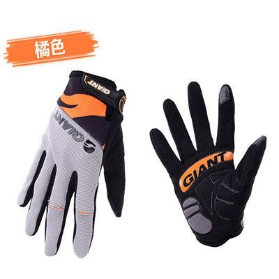 2015 New Bicycle Full Finger Glove Summer Style Cycling Man Bike Road/Mountain Four Colours Cotton&Lycra Guantes Ciclismo CG-012