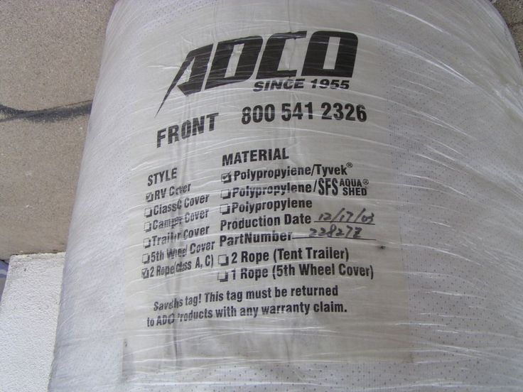 "CLASS A RV MOTORHOME COVER ADCO #22827Z FITS 37'1"" - 40' MADE IN USA #ADCO"