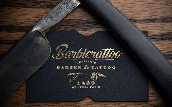 Barbierattoo by Memela, via Behance