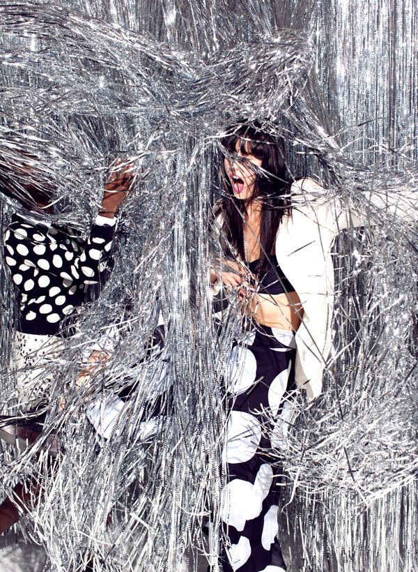 Tinsel Town, Fashion Feature shot for Foam Magazine, 2012. JUCO.