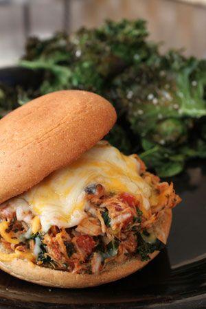 The Italian Pulled Chicken Sandwich Idea