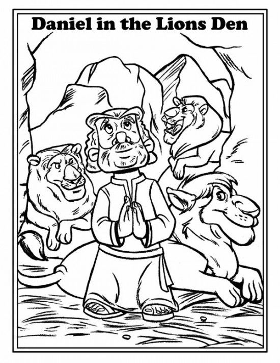 David And Goliath Coloring Pages Picture 7