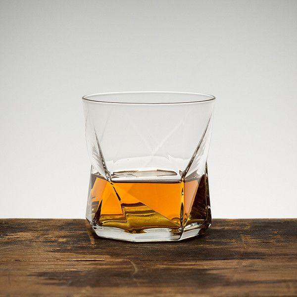 Faceted Whiskey Glasses - Set of 4 $25 *Logan Ray, Michelle Dawson, Nina Arshagouni, Nuno Moura, Sean Harris, Tim Yu, Tony Hellberg