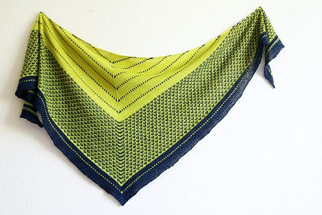 The Love of Spiders by Melanie Berg   Slip-stitch pattern in fingering wt. inspired by Charlotte's Web