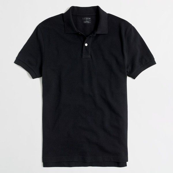J.Crew Slim washed piqué polo shirt ($20) ❤ liked on Polyvore featuring men's fashion, men's clothing, men's shirts, men's polos, mens collared shirts, mens slim fit polo shirts, mens french cuff shirts, j crew mens shirts and mens pique polo shirts
