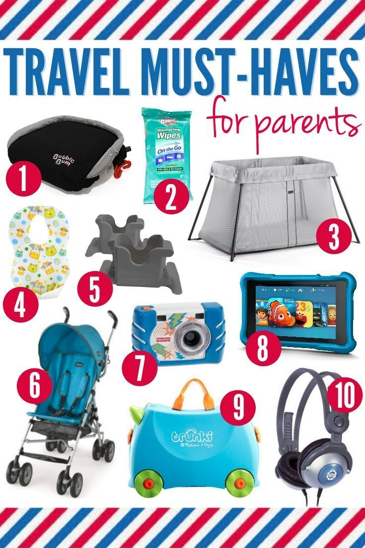 10 travel must-haves for parents | baby essentials | travel, travel