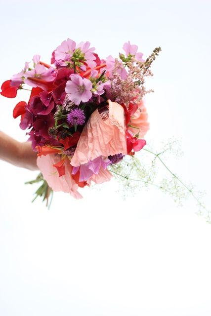 Handgebonden bruidsboeket door Fleur van Veghel en Elfi Voermans