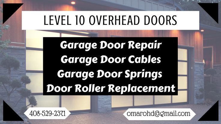 Level 10 Overhead Doors offers the best garage door services and can help you with every garage door problem including garage door cable repair, garage door spring replacement and garage door installation as well.