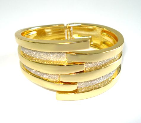 """We call this our """"GlitterBall"""" Cuff ."""