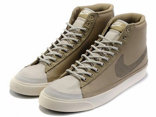Cheap 371761-204 Nike Blazer MID camel white men running shoes