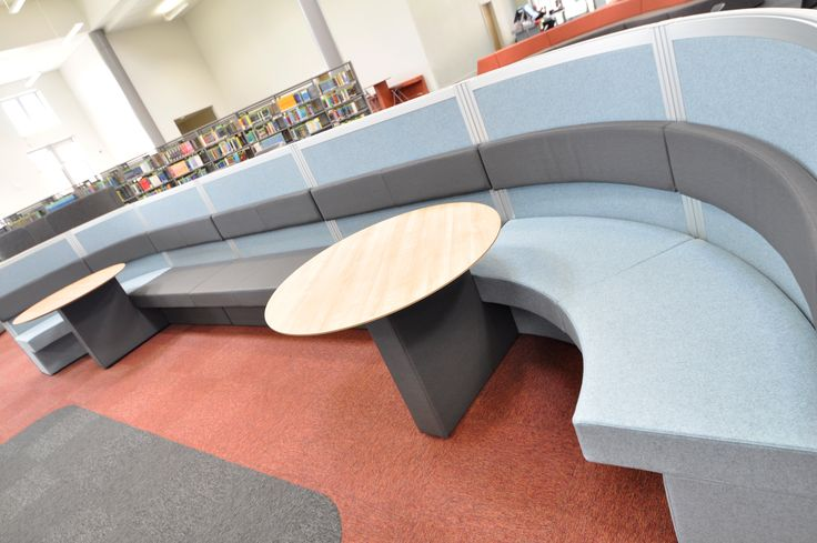 Swansea University: Scince & Innovation Bay Campus.  Cove screen system with integrated seating.