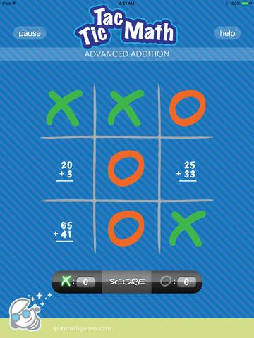 Giocare a Tris e sviluppare abilità matematiche: Tic Tac Math