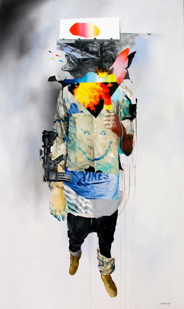Bullet With Butterfly Wings - Artwork by Joram Roukes