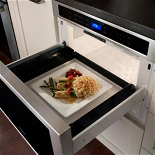 Mf24js Thermador 24 Inch Built In Microdrawer 1 2 Cu Ft