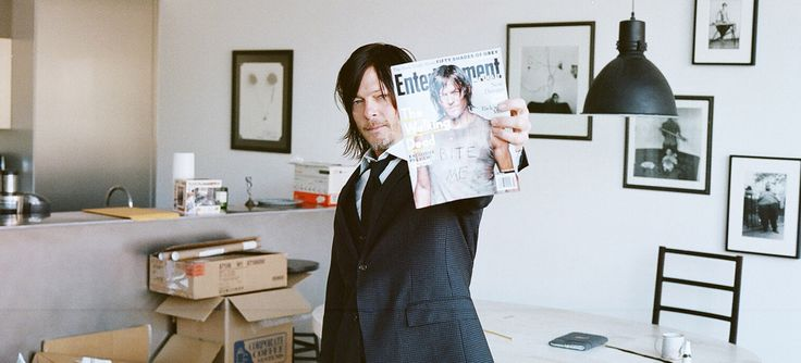 Norman em 5minuteswithfranny