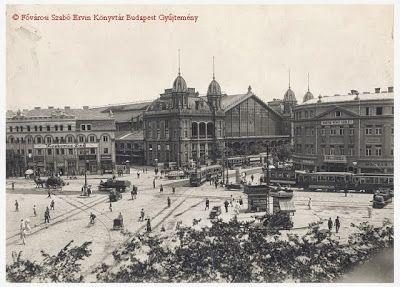 Kondor Vilmos | Budapest Noir | A Nyugati pályaudvar és a Berlini tér, 1920-as évek | #book #crime #budapest