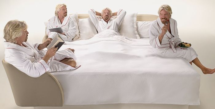Рецепт успеха от Ричарда Брэнсона: «Спите больше!» | Реклама Маркетинг PR - SOSTAV.UA