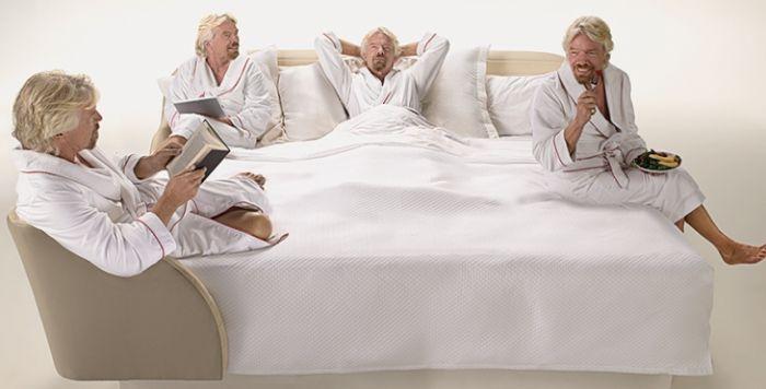 Рецепт успеха от Ричарда Брэнсона: «Спите больше!»   Реклама Маркетинг PR - SOSTAV.UA