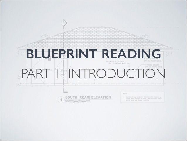 The 25 best blueprint reading ideas on pinterest blueprint blueprint reading introduction malvernweather Images