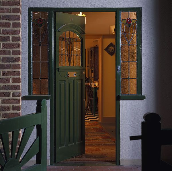 Front Door to 1940's House | Flickr - Photo Sharing!