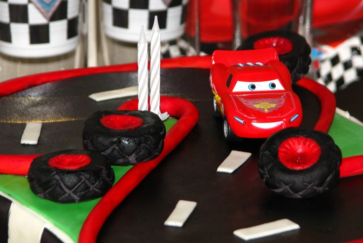 Cars cake for Adrian's 2nd birthday III