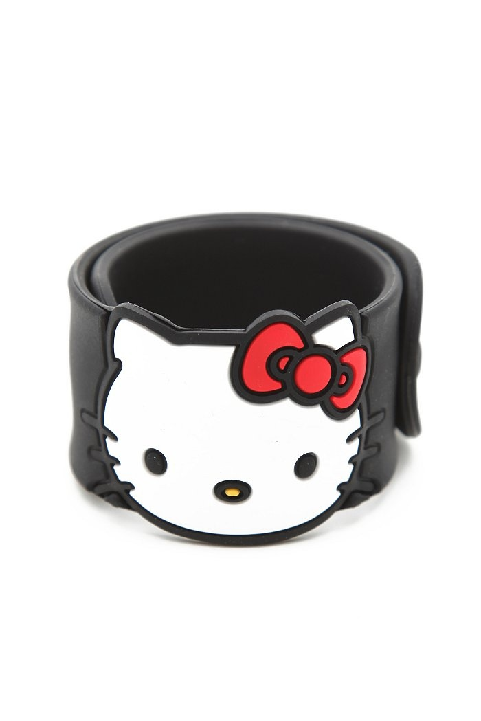 Bracelet elastique forme hello kitty