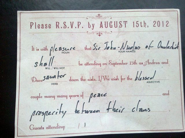 A Sock Posse Mad Libs Rsvp And Of Mohawks For Love Pinterest Wedding Invitations