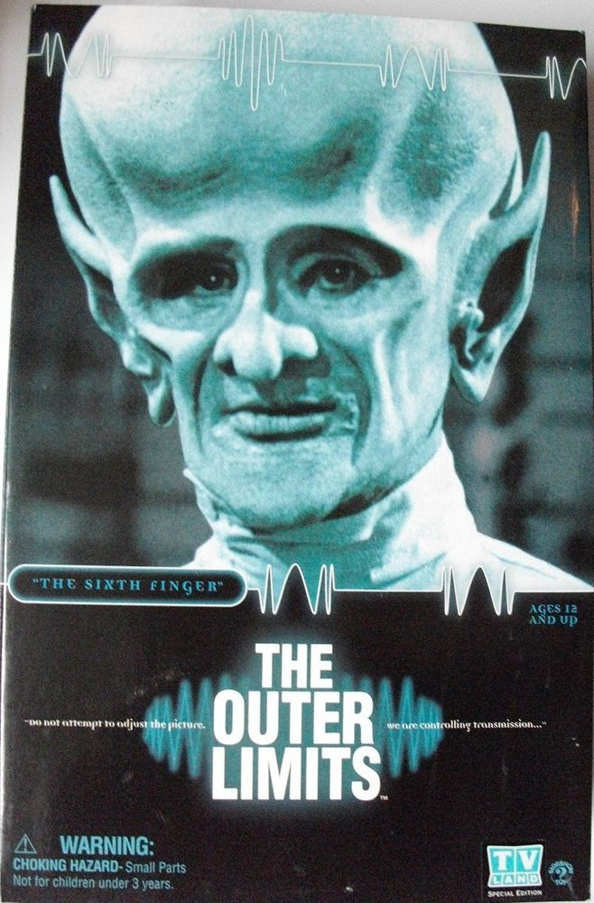 The Outer Limits Sideshow Toys Future Man Six Finger #SideshowToys