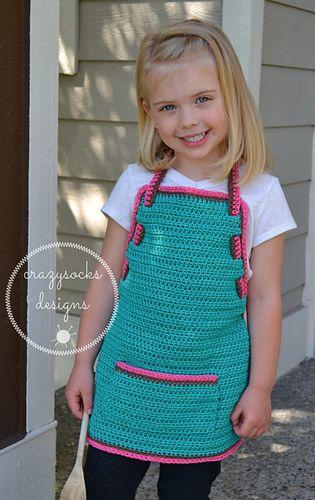 Pretty Little Apron  Designs .. #inspiration_crochet_diy GB ...