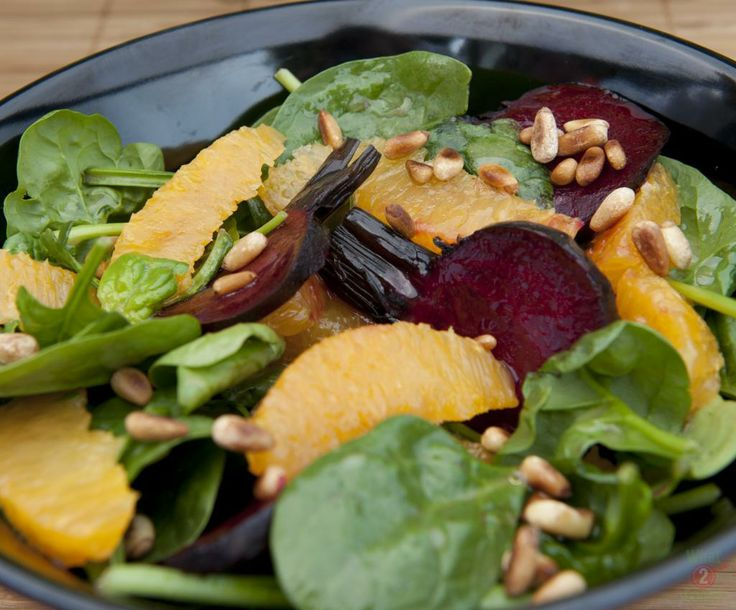 Roasted Beetroot and Orange Salad