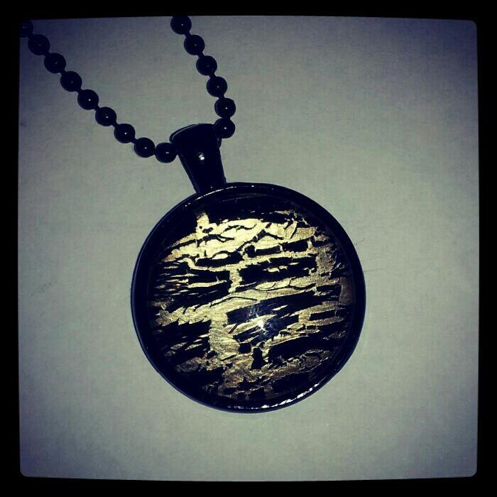 nailpolish pendant from kylie maree creating