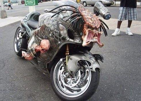 Gnarly Predator Motorcycle
