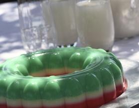 gelatina tres leches