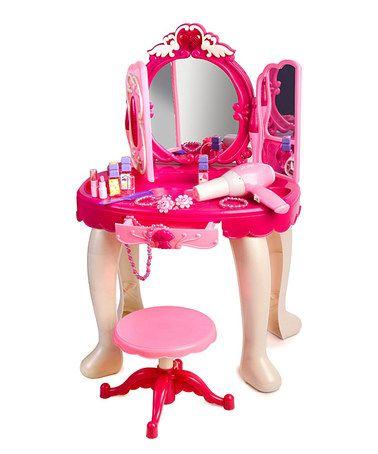 Another great find on #zulily! Triple-Mirror Vanity Play Set #zulilyfinds