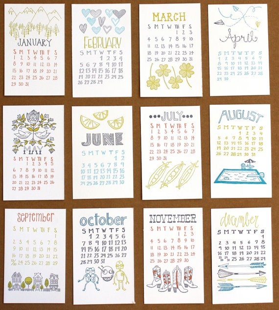 118 best Calendar images on Pinterest