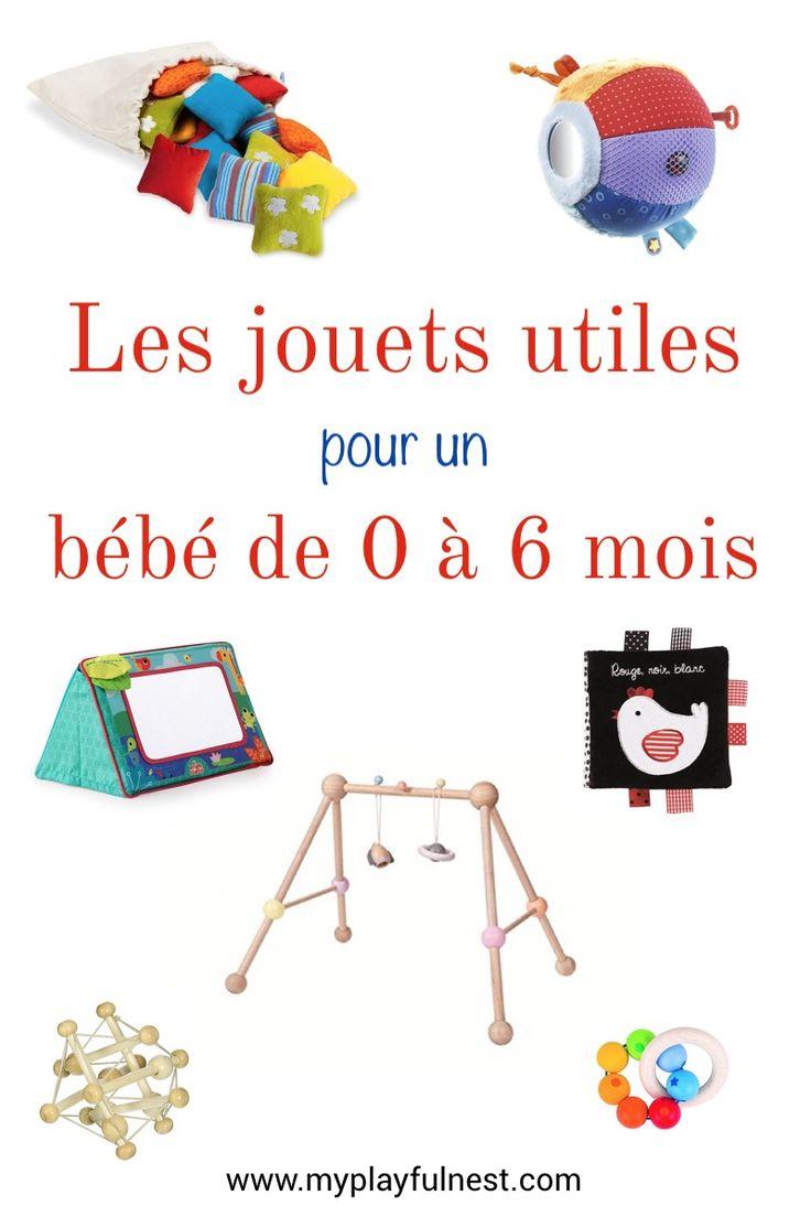 Découvrez les jouets vraiment utiles pour un bébé de 0 à 6 mois. Ceux-ci sont …   – Astuces bébé