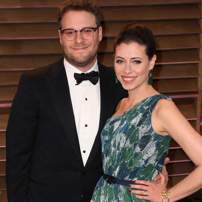 When Seth Rogen's senate committee speech went viral last week, few took notice of his wife, the woman who inspired his grand government gesture. Lauren Miller (For a Good Time Call...) was just 22