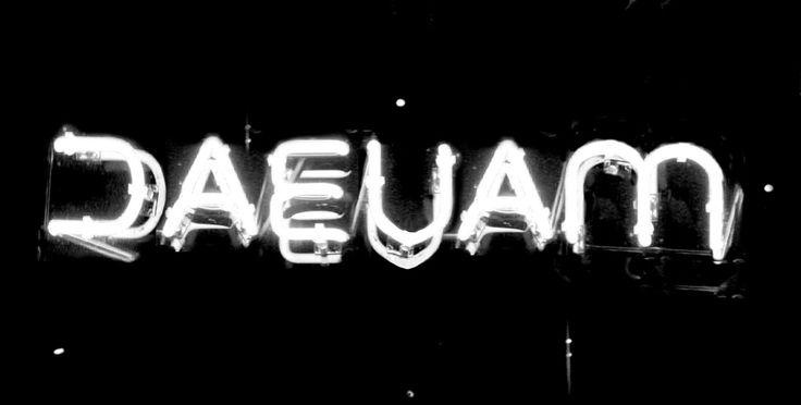 Daevam Técnica: neon