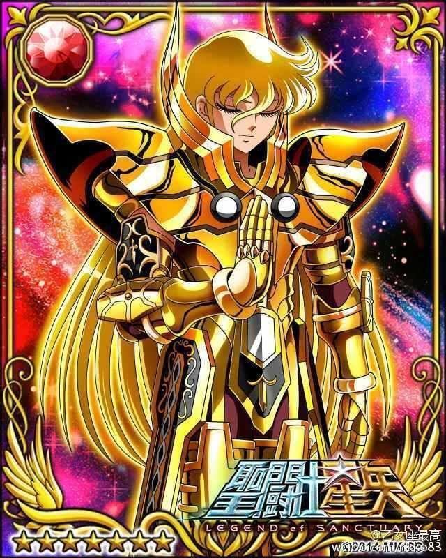Confira mais quatro cards da linha Mobage, desta vez com os Cavaleiros de Ouro…