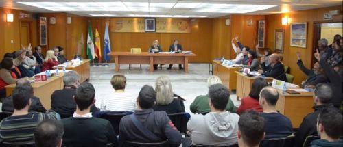 Foto de archivo: Pleno del Ayuntamiento de Almuñécar