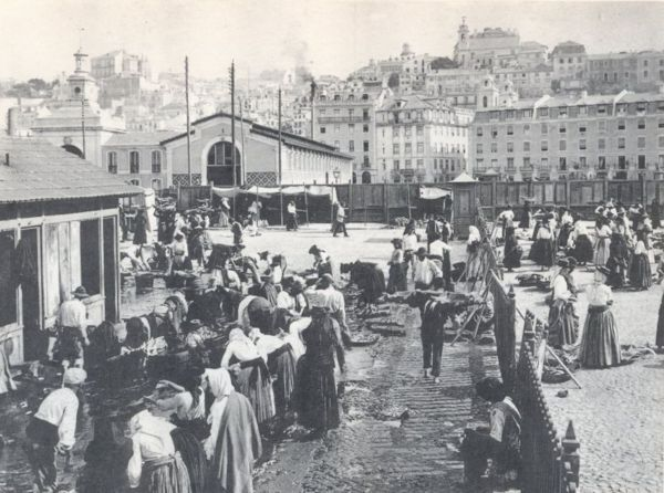 Mercado da Ribeira Velha, 1890, Lisboa