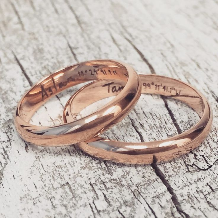 17 Best ideas about Matching Wedding Bands on Pinterest | Matching ...