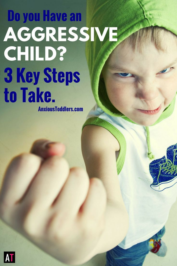 If you have an aggressive child, here are three key steps to take to start helping them right away.