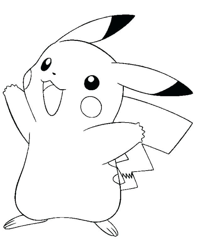 Simple Pikachu Coloring Pages Ideas For Children Pikachu Coloring Page Pokemon Coloring Pages Pokemon Coloring