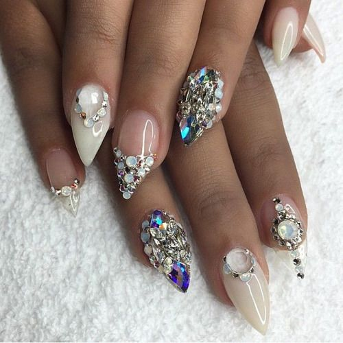 how to make stiletto nails with acrylic