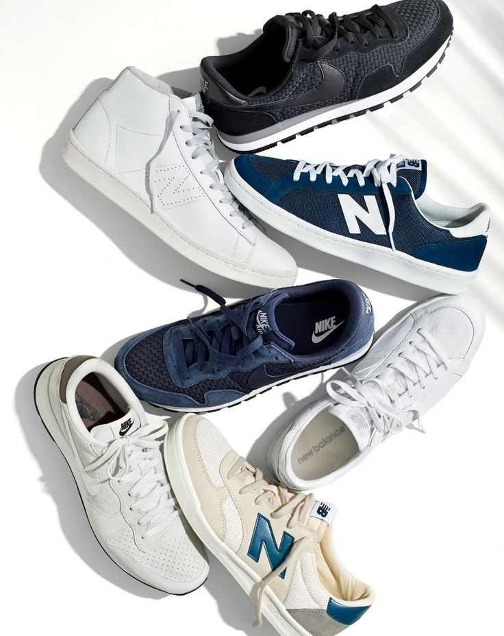 J.Crew men's New Balance® for J.Crew and Nike® for J.Crew sneakers.