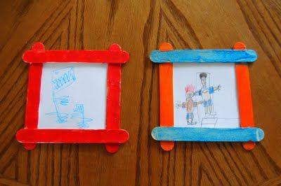 Aprovecha que a los peques les gusta dibujar para preparar una sorpresa para papá...